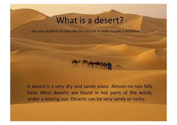 Animals in Deserts