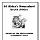 Animals of the African Plains ~ Notebooking Pages &amp; Activity Book