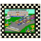 Animated Race Car Attendance for your Smart Board