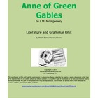 Anne of Green Gables Unit with Literary and Grammar Activities