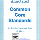 Annotated Common Core Standards for ELA Grade 4