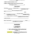 Annotation Activity (non-fiction reading)