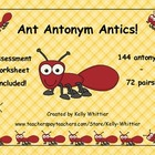 Ant Antonym Antics!