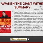 Anthony Robbins - Awaken the Giant Within - Summary