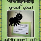 Anticipating a Great Year- Bulletin Board Craft