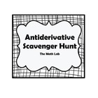 Antiderivative Scavenger Hunt
