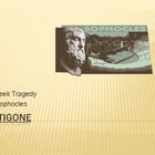Antigone - A Greek Tragedy by Sophocles (PowerPoint Notes)