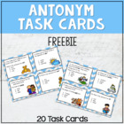 Antonym Task Cards for work stations