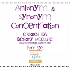 Antonym and Synonym Concentration Game