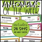 Antonym of the Week