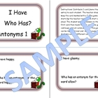 Antonyms Game 1