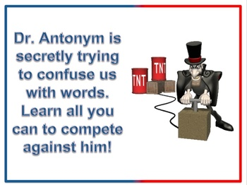 Antonyms interactive Power Point and Activity for Primary