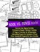 Any Book & Movie Comparison Reader's Notebook Activities C