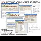 Anything Academic Test Generator for Windows PC