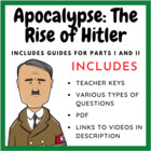 Apocalypse: The Rise of Hitler Part I & II (Teacher Create