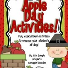 Apple Activities- Common Core