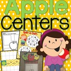 Apple Activities Pack (Centers, Craftivity, and Printables)