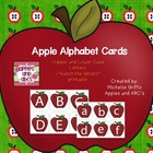 Apple Alphabet Cards