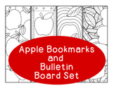 Apple Bookmarks Autumn Fall Back to School Printable Color