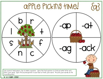 Apple (Common) Core Literacy Centers