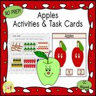 Apple Count & Clip Cards   *Common Core Aligned*