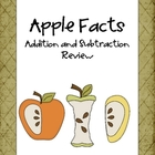 Apple Facts- Addition and Subtraction