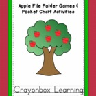 Apple File Folder Game & Activities