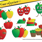 Apple Freebie Clipart Pack