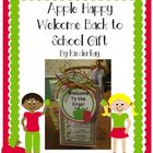 Apple Happy Welcome Back to School Gift