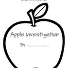 Apple Investigation Journal {using the 5 senses}