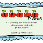 Apple Mania: Literacy, Math & Science Activities