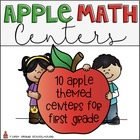 Apple Math Centers First Grade