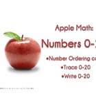 Apple Math: Counting to 20-- FREE