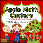 Apple Math Fun Work Stations!