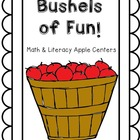 Apple Math and Literacy Centers