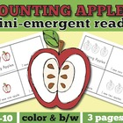 Apple Mini Emergent Reader: Apple Counting with One to One