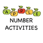Apple Number Activities