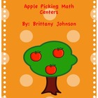 Apple Pickin' Math Centers