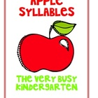Apple Syllables Cards