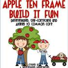 Apple Ten Frame Fun-Self-Correcting, Differentiated and Al