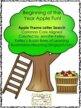 Apple Theme Letter Search