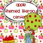 Apple Theme Literacy Centers