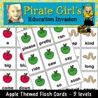 Apple Themed Dolch Word Card Packet