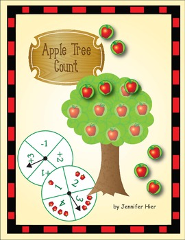 Apple Tree Count:  Math Game for Preschool and Kindergarten