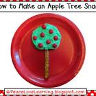 Apple Tree Picture Recipe Book
