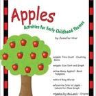Apples:  Activities for Preschool and Early Childhood