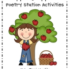 Apples, Apples - Activities for Your Poetry Station
