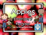 Apples Emergent Reader ~ Plus Activities