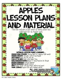 Apples & More...Lesson Plans and Materials