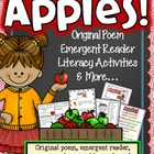 Apples (Literacy activities, original poem, emergent reade